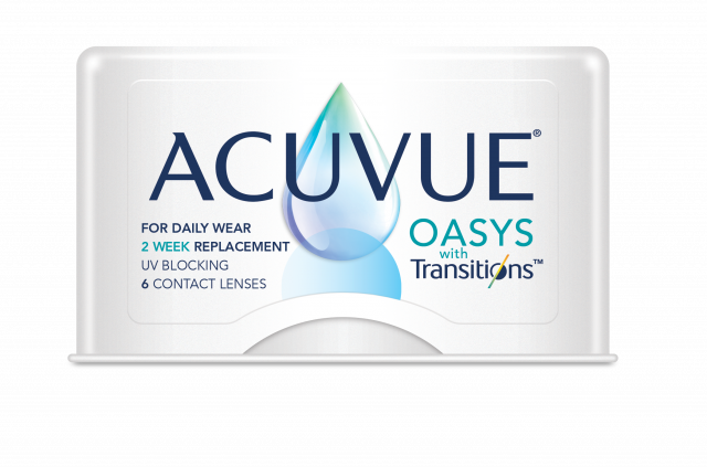 Acuvue Oasys Transition Box Shot